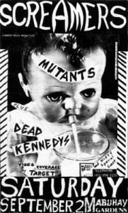 Screamers Dead kennedys Mabuhay 9-2-78